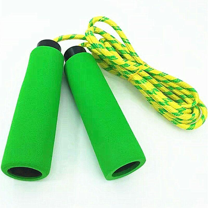f spor atlama Egzersiz egzersiz Ekipmanları spor spor çocuk atlama oyuncak sünger sap ip atlama DmjSX Yeni sünger sap halat