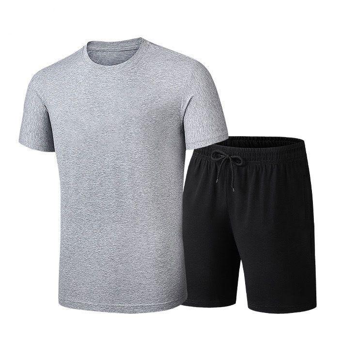 Hommes Femmes Survêtements Casual Deux Pièces imperrespirant Chemises + Shorts Pantalons Mode Hommes Femmes Sports minces Survêtements 4 couleurs Taille L-5XL