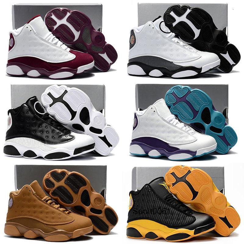 Erkek Kız Ayakkabı Ücretsiz Kargo boyutu için 2020 Gençlik Çocuk Atletik Jumpman 13s Bebek 13 Çocuk Basket Ayakkabısı Spor Ayakkabı: 28-35