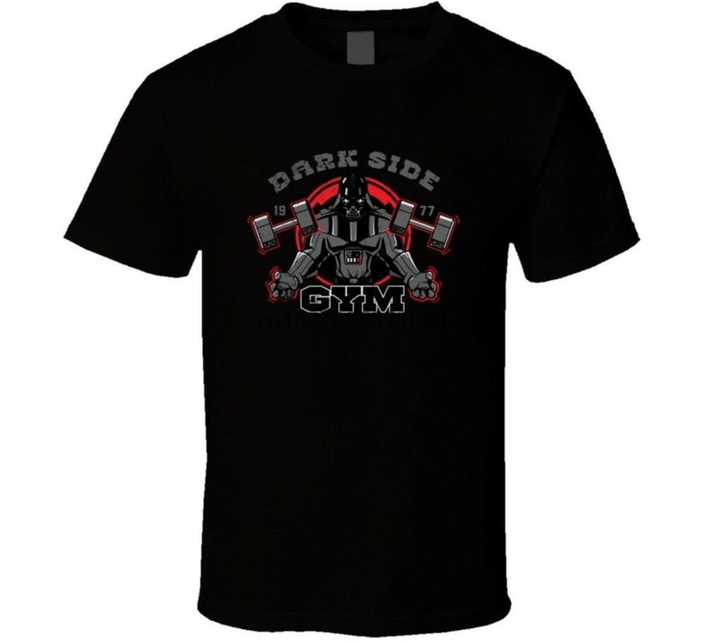 T-shirt Dark Side T Darth Vader Gym Homme Plus Size T-shirt