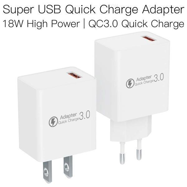 JAKCOM QC3 Súper USB Adaptador de carga rápida de nuevos productos de adaptadores de teléfono celular como tela uk materiales de arte chucky muñeca