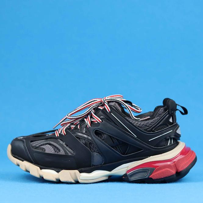NOIR GRIS ROUGE chaussures pour femmes schuhe deutschland chaussures de marque Grenat plate-forme chaussures pour femmes Size40-46
