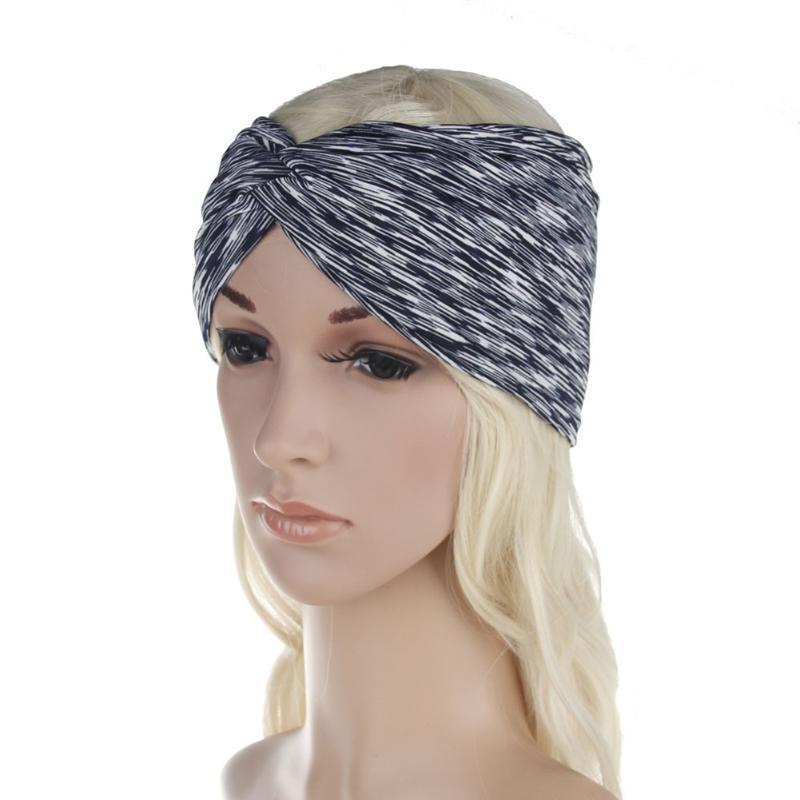 Alta Qualidade Boho Headbands por Mulheres Cruz Vintage Elastic Envoltório principal Acessórios de cabelo