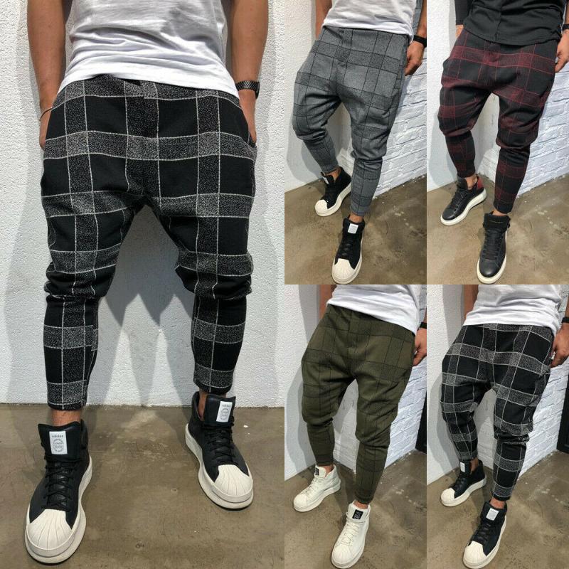 Pantalon pour hommes 2021 Fit Slim Fit Pantalons de jambe droite Urbaines Casual Crayon Jogger Cargo pour la chute du printemps