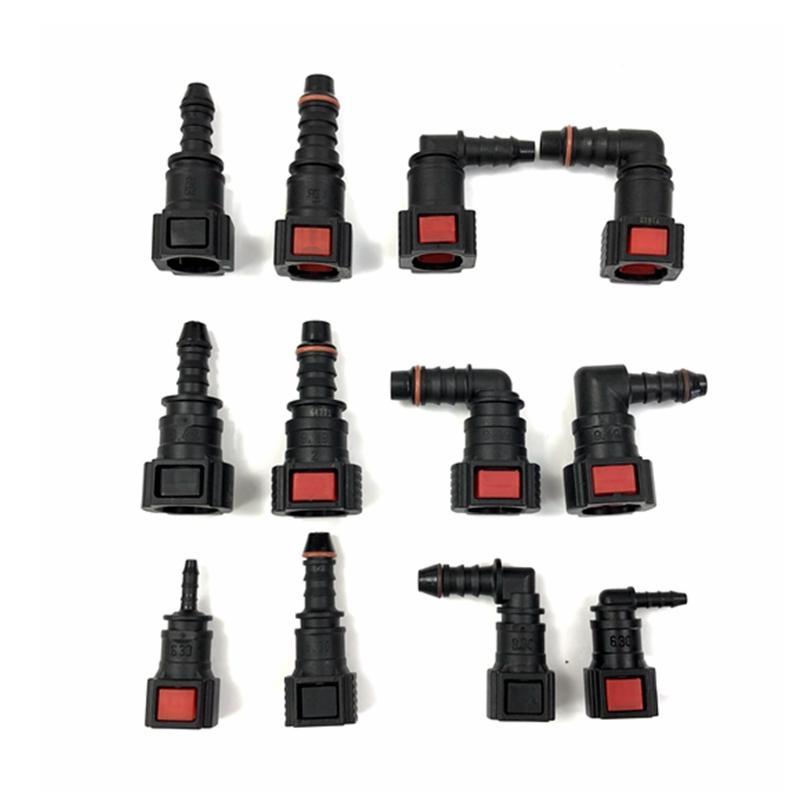 Auto fuel pipeline quick connector urea connector SAE pipeline oil pump filter element filter 6.30 7.89 9.49 9.89 11.8