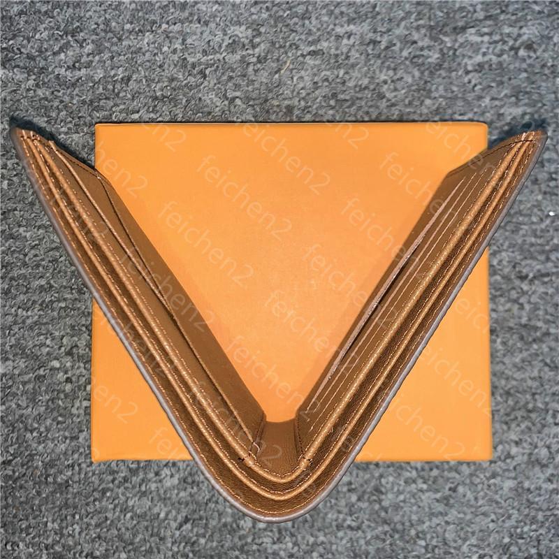 mens walletd bolsos multicolores de tarjetas de crédito dinero de bolsillo titular de parís enérgico hombre cuadros estilo carpetas del cuero genuino con la caja de la bolsa para polvo IQB9
