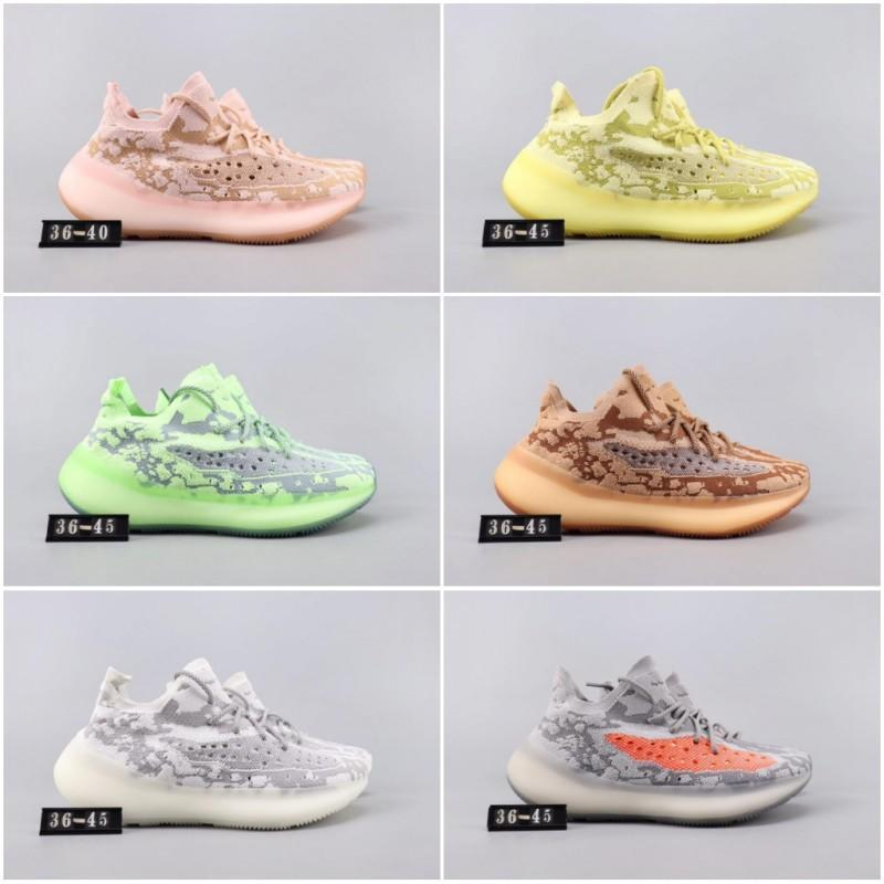 ssYEzZYYEzZYs v2 350impulsionar estrangeiro New Kanye West V3 Black Angel Som Amarelo Ondas FB6878 Runner Running Shoes Sports Sneakers t