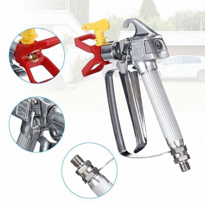 3600 PSI Airless Pulvérisateur de peinture Pistolet haute presse avec 517 Tip Guard pour buse de pulvérisateur Accessoires de #