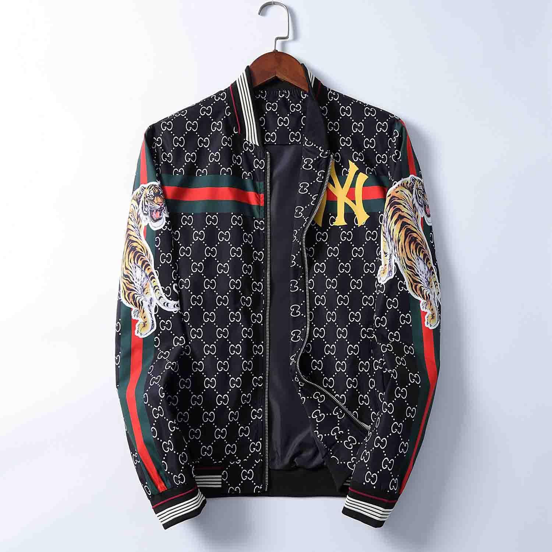 Numéro 3 Imprimé Hommes Marque Designer Manteau d'hiver Casual High Street Veste athlétique mince capuche coupe-vent avec le logo FF