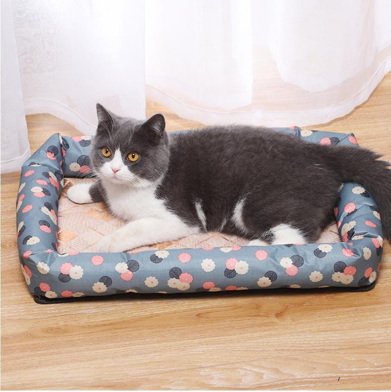 2020 Hottest Pet Shop Spring / Summer arrefecimento em gelo Cão almofada de dormir Pad Cool Cat Casa Pet Pad