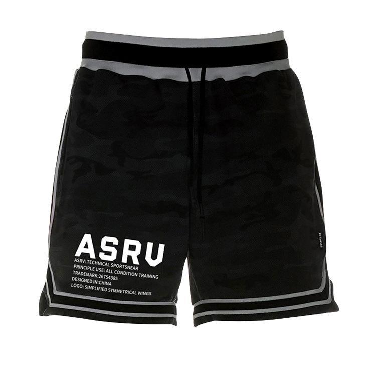 nuevos deportes para hombre pantalones cortos ASRV floja coreana recta multifuncional Entrenamiento de la carrera rápida pantalones secos al aire libre