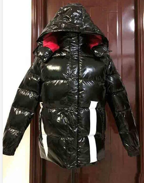 Casual Down Jacket da uomo di alta qualità MAYA Piumini Uomo vestito esterno dal caldo della piuma del cappotto dell'uomo di inverno outwear Giacche Parka