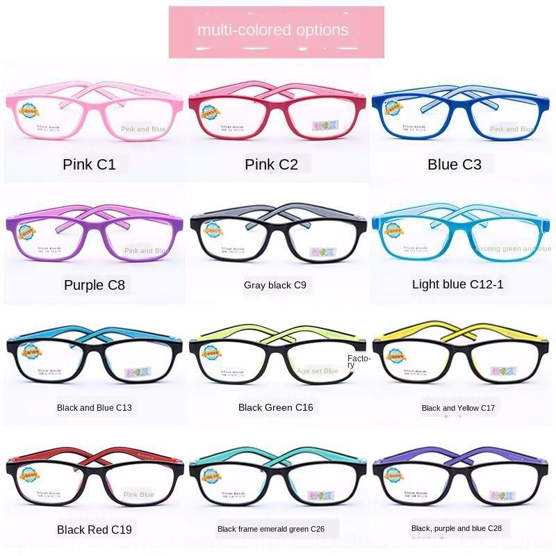 Jagger Z508 Silikon Kinder Farbe optische Rahmen mit Kurzsichtigkeit Student Myopie Brille Silikon Brille Brille