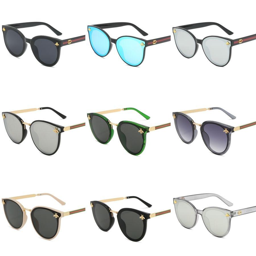 Europa e negli Stati Uniti gli occhiali da sole classici Fashion Square per uomo e donna Mi Nail Occhiali da sole Maschere Occhiali da sole siamesi # 366
