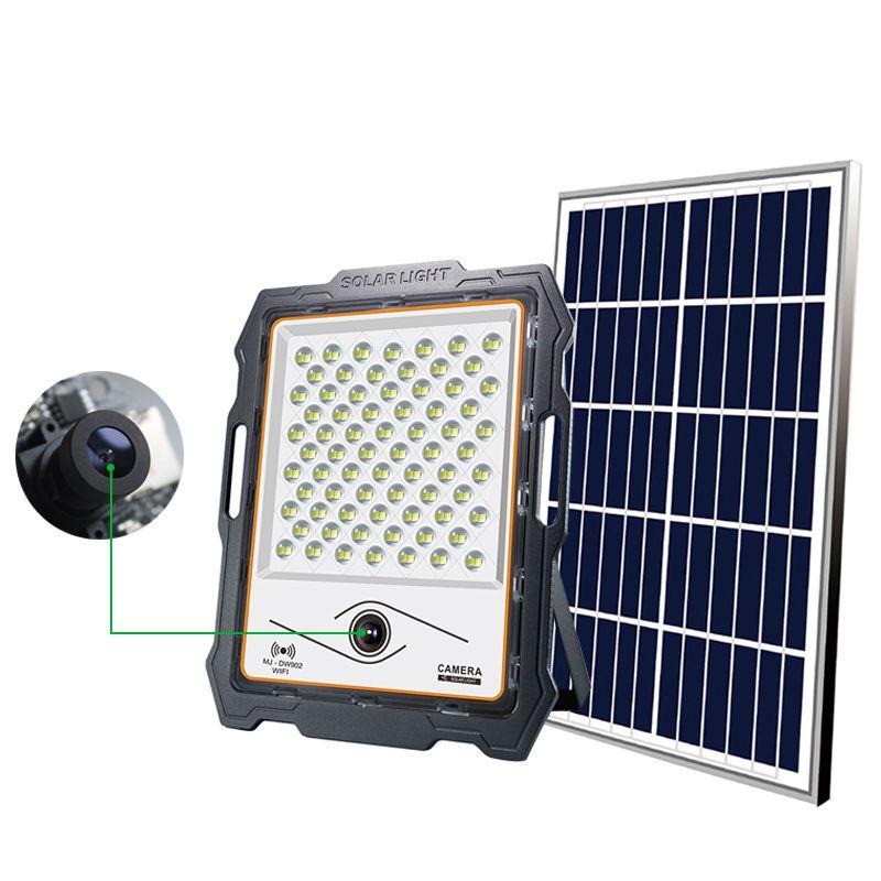 Edison2011 2020 ضوء الفيضانات الشمسية الجديدة مع الكاميرا 16 جرام 128 جرام tf بطاقة الشاشة الشمسية الساحات الفناءات مزارع البساتين حديقة الأمن المنزل مصباح