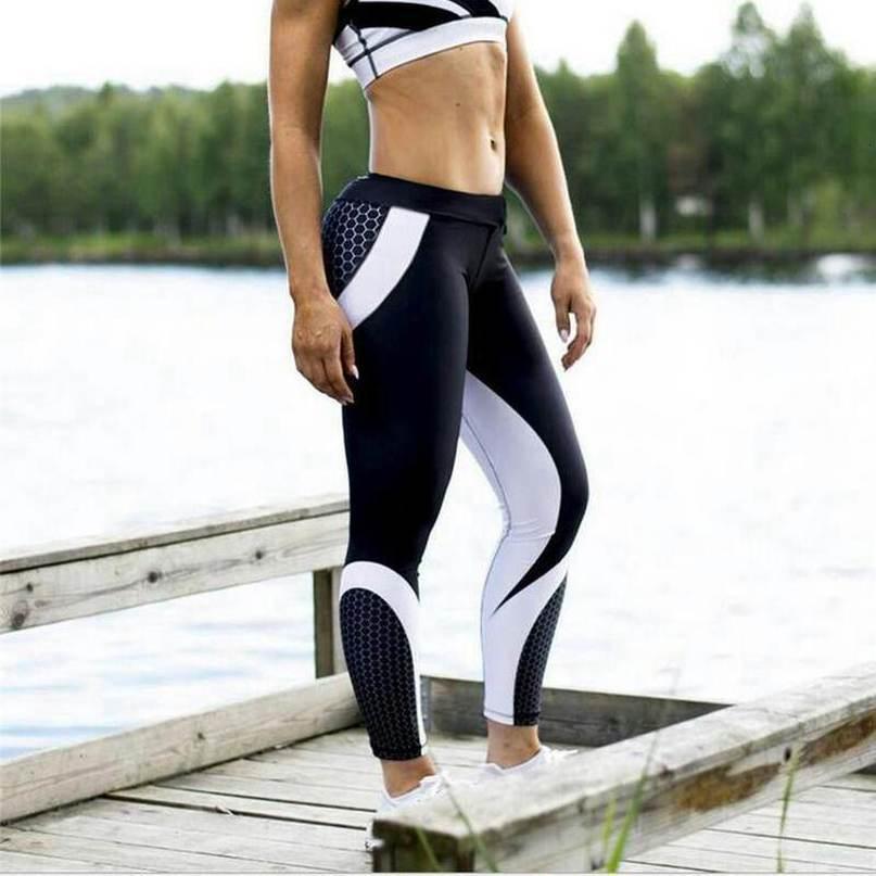 2020 Mode Femmes Leggings Pour Fitness Legging Push Up Sexy entraînement Leggins super stretch Sport Legins Vêtements Gym Pantalons simple