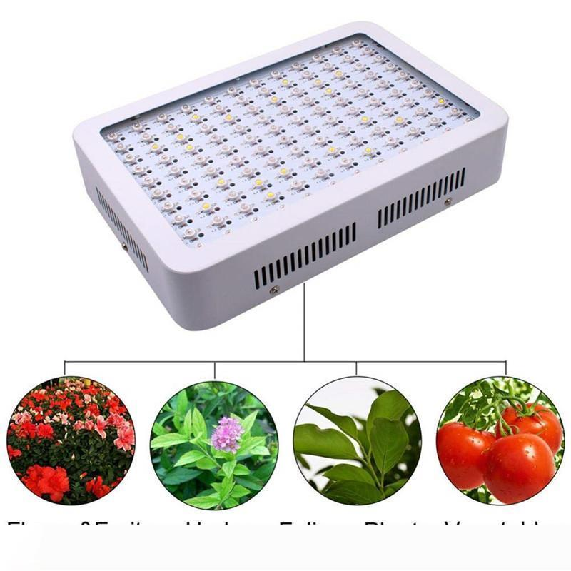 كامل الطيف 1000W 1200W 1500W 1800W 2000W مزدوجة رقاقة LED تنمو الاضواء الأحمر الأزرق للأشعة فوق البنفسجية والأشعة تحت الحمراء لنبات داخلي وزهرة جودة عالية