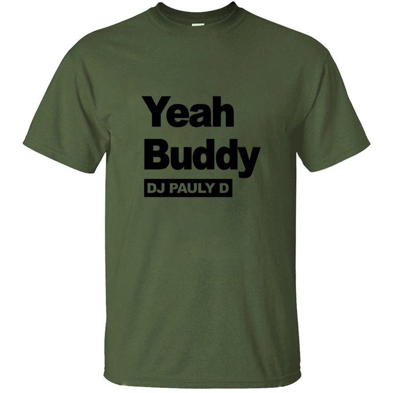 Отпечатано Designs Dj Pauly D Logo Футболка мужская Kawaii Прохладный Streetwear Удивительный взрослых МАЙКИ с коротким рукавом HipHop