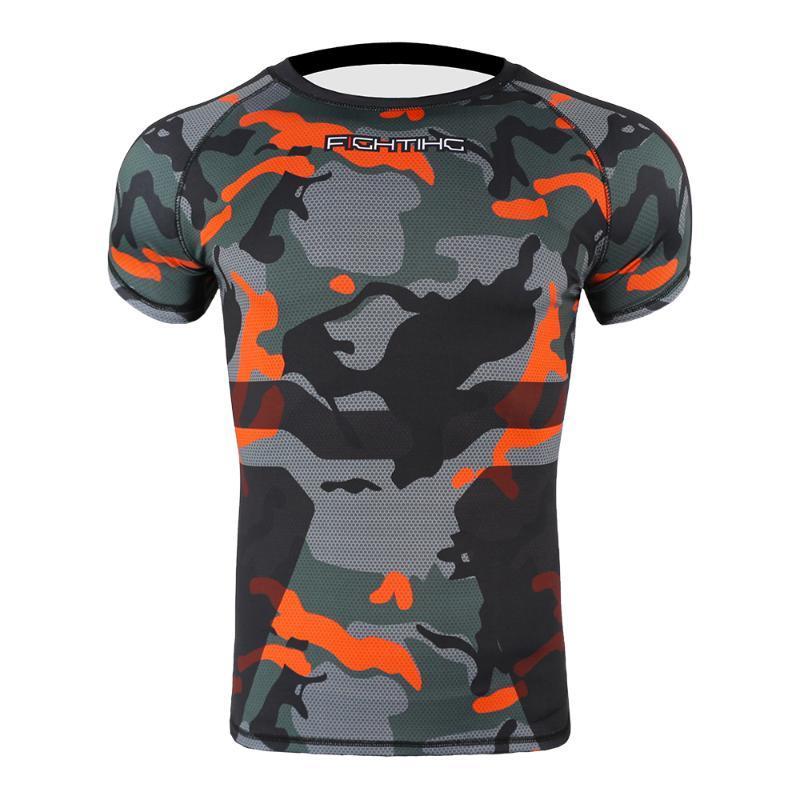تشغيل الفانيلة الهندسة تنفس ضغط الرياضة ضيق تي شيرت الرجال قصيرة الأكمام اللياقة البدنية الملابس الركض تجريب قميص رياضية
