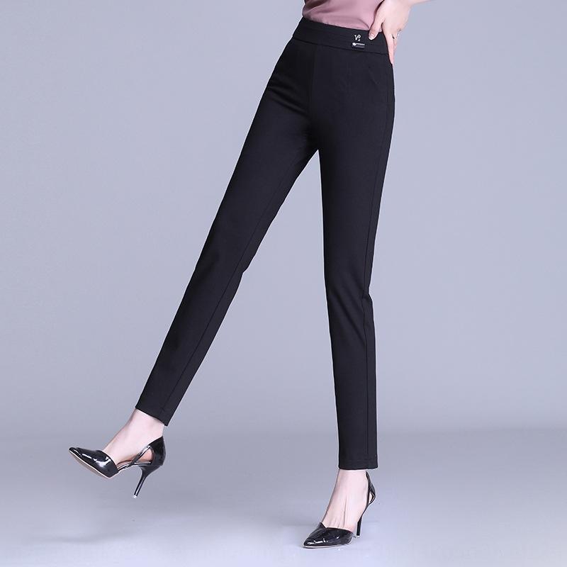 Yuanwei 2020 new Tight pencil pants elastic high waist pencil pants leggings