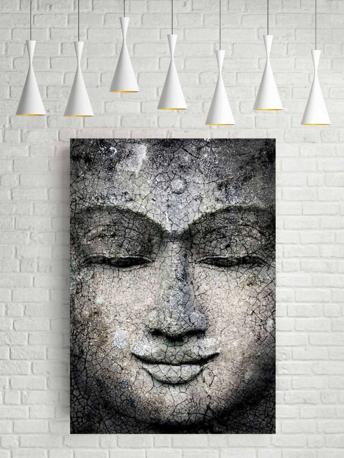STUNNING RIASSUNTO BUDDHA Home Decor dipinto a mano HD Dipinti Stampa Olio su tela Wall Art Immagini 200727