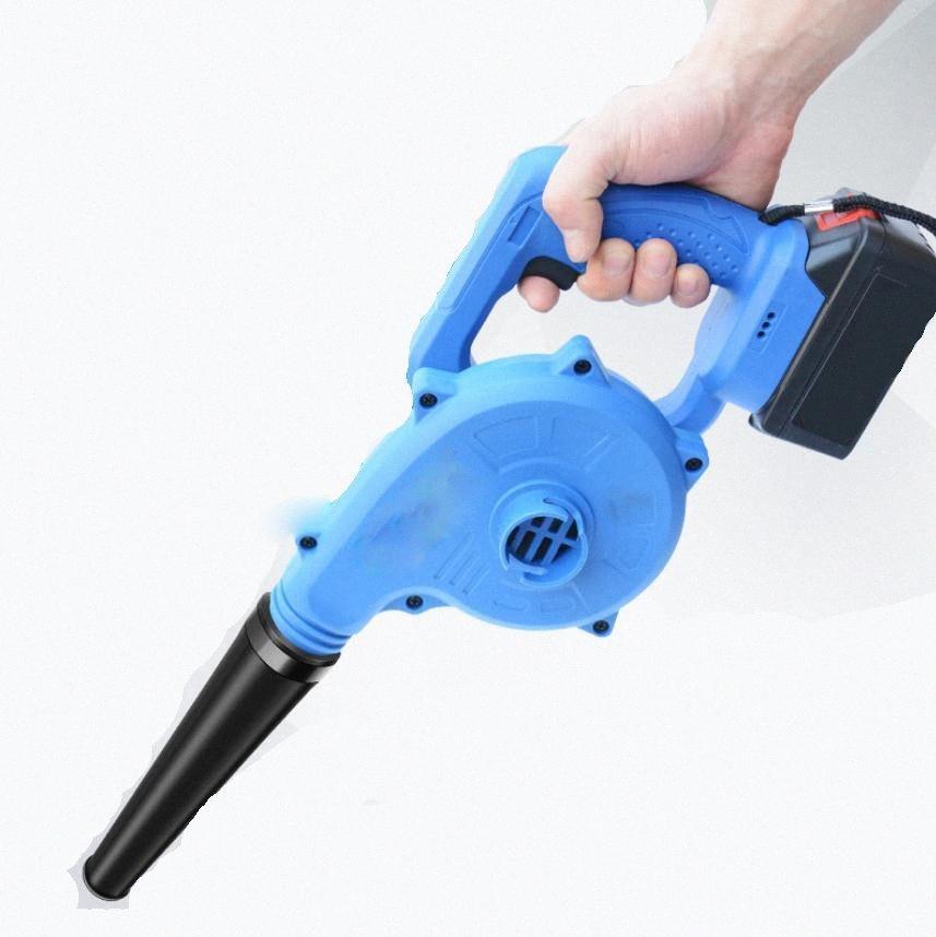 Blowing de succión doble uso del secador de pelo de la batería de litio de 21V sin cable eléctrico del ventilador del soplador de aire de Grado Industrial cul0 #
