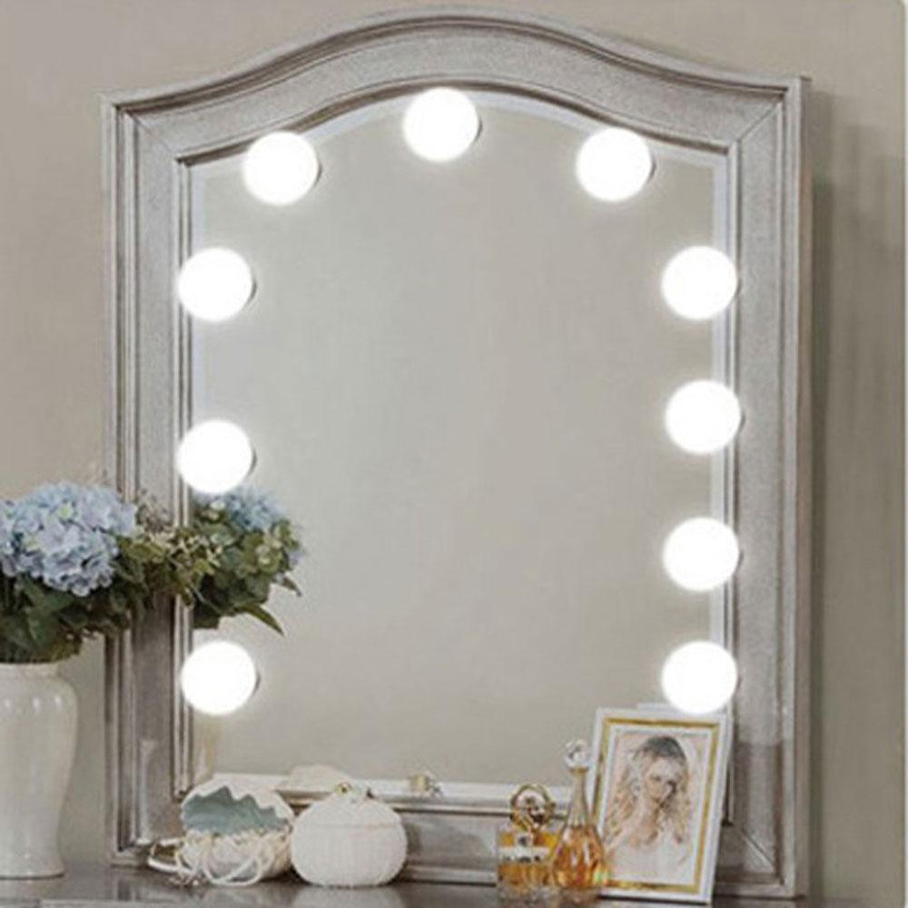 Makeup Mirror Light Bulb String 10 Lights Led White Usb Sticking On The Mirror Diy Decor Lamp Bar Bedroom Home Interior Designs Home Interiors Decorations From Kbaybolife 12 69 Dhgate Com