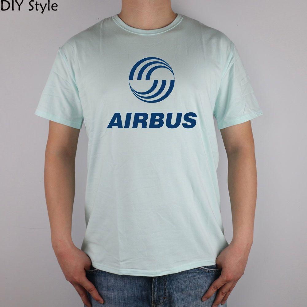 AIRBUS T-shirt Lycra Cotton Men T shirt