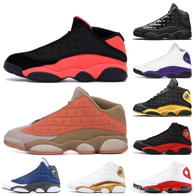 Jumpman 13 13s zapatos de baloncesto del Mens Clot sepia Cap Lakers Stone y vestido de gris Ambiente Flint Chicago Altitud Formadores mujeres las zapatillas de deporte