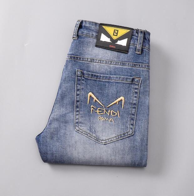 İnce streç pantolon genç erkekler için pantolon germek küçük ayak İlkbahar / Yaz Yeni Güney Koreli versiyonu