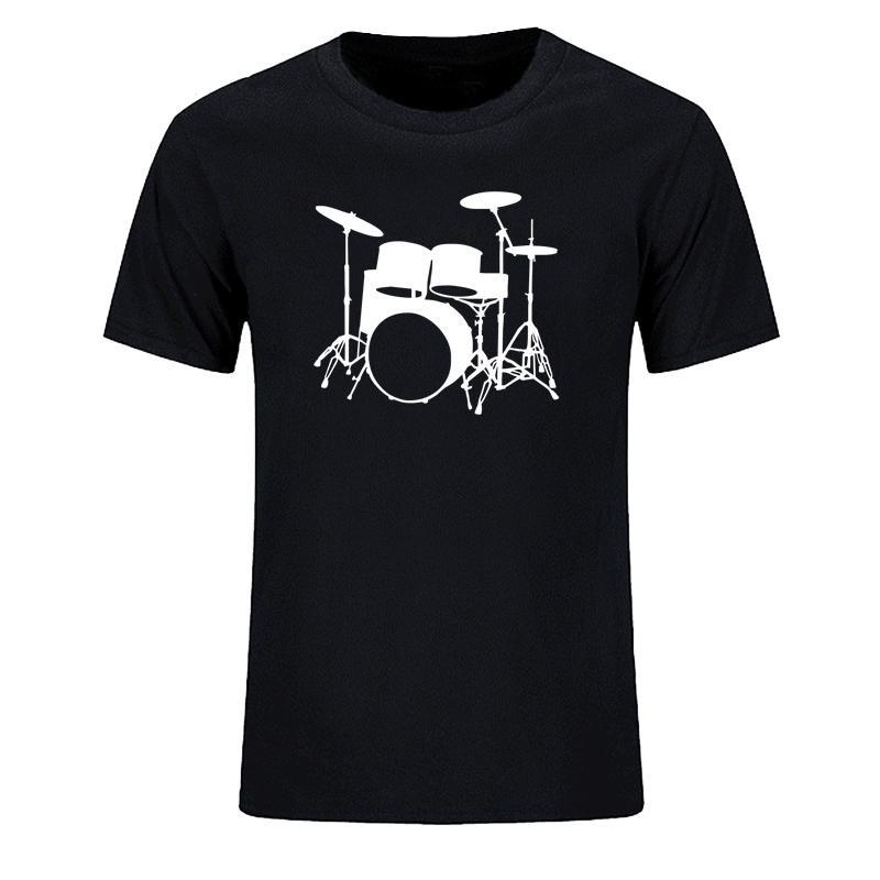 Instrumentos Musicales Dj Banda camiseta Marca Harajuku Hombres camiseta personalizada de impresión Camisetas Tops Camiseta para los Clothin