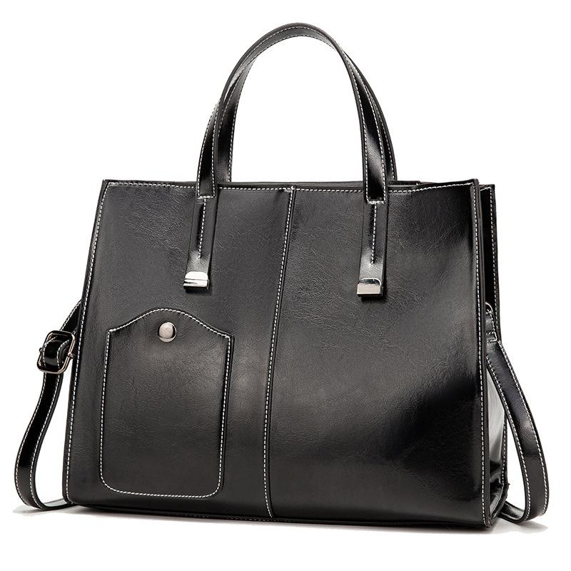 Luxury Women Bag Handbags Women Messenger Bags Leather Designer Handbag 2020 Vintage Big Hobos Female Bag Sac C1415