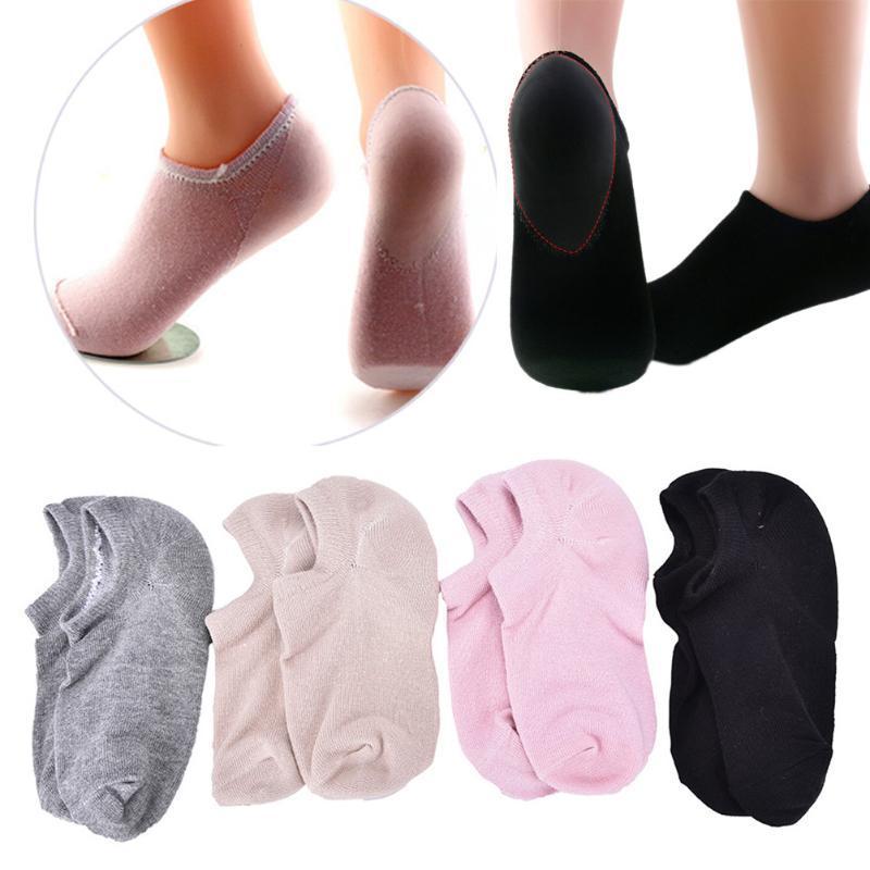 1 PairSoft Spa Socken für Pediküre Moisturizing Massage rissige Haut Heel Kissen Gel Pediküre Socken-Fuss-Sorgfalt-Werkzeug