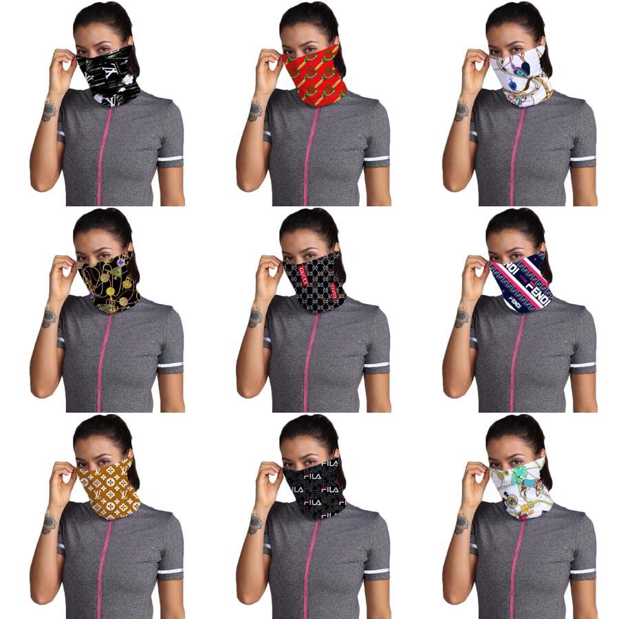 Máscaras JJ8Zs la bufanda del mantón de la sombrilla Diseñador Trump Mascarilla contra los rayos UV Cuello Sun bufanda máscara máscaras aire libre que monta Protección máscara protectora # 982 # 398