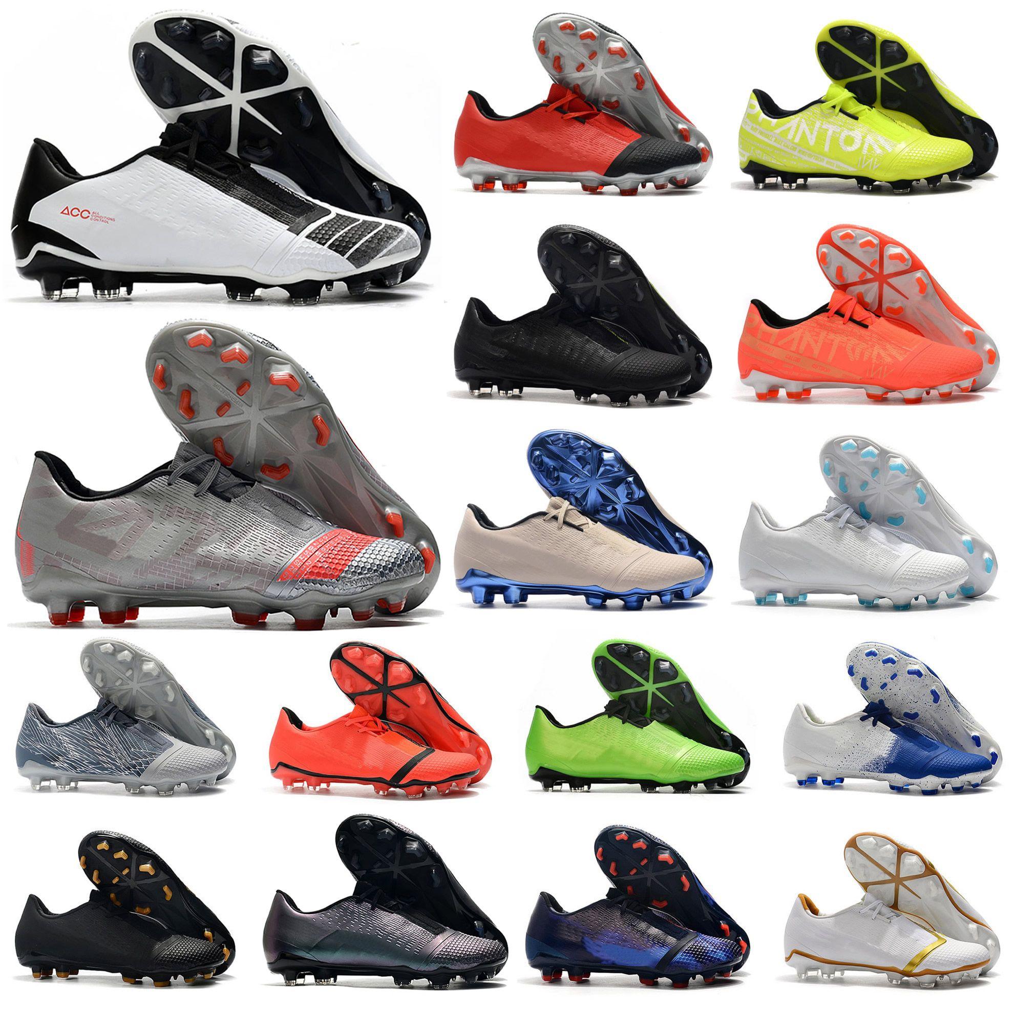 2020 أحذية رجالية فانتوم السم VNM النخبة FG الجوار حزمة المستقبل DNA لكرة القدم أحذية كرة القدم المرابط الحجم الولايات المتحدة 6،5 حتي 11