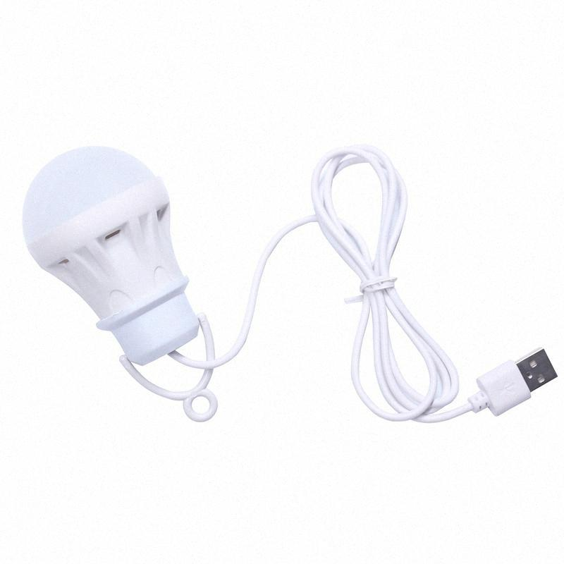 3V 3W Usb Bulb Light Portable Lamp Led 5730 For Hiking Camping Tent Travel Work With Power Bank Notebook GQP4#
