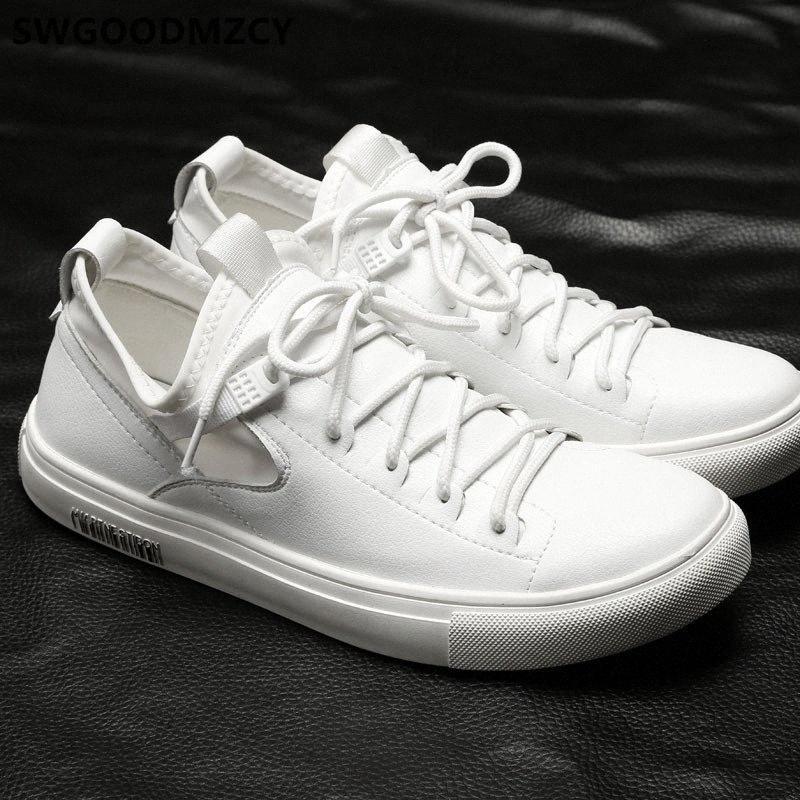 chaussures hommes de mode casual chaussures en cuir vente chaud hommes chaussures de sport des hommes blancs de haute qualité zapatos de hombre AYAKKABI EAqg #