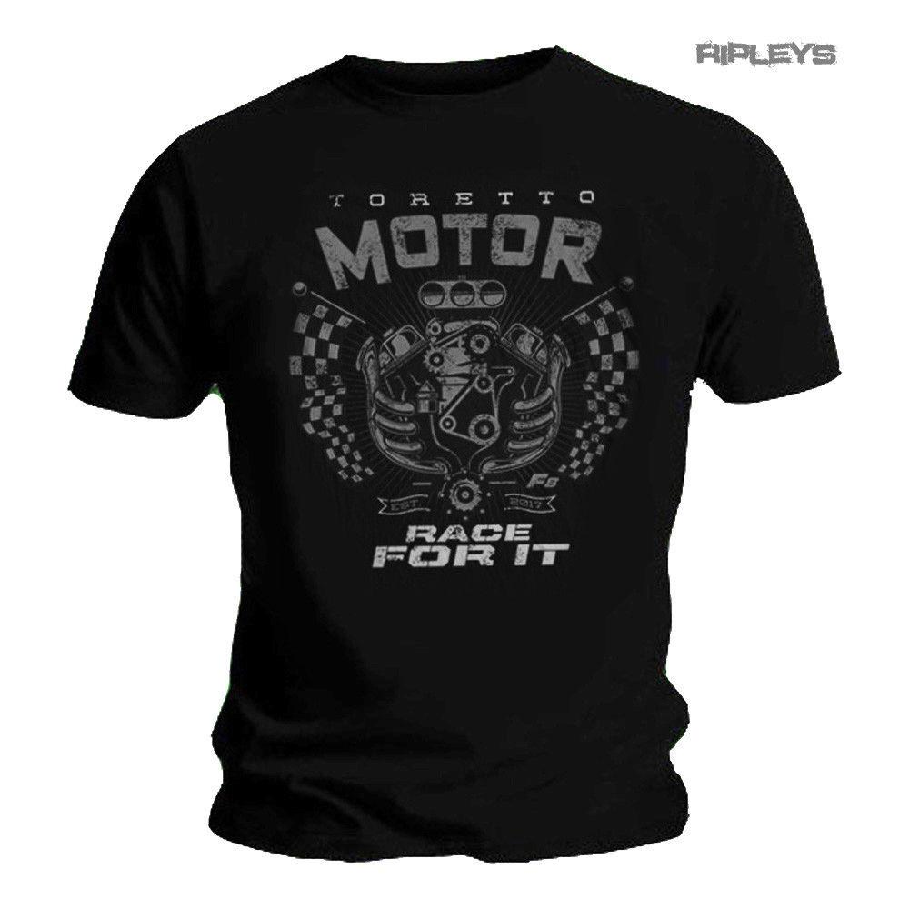 2020 Moda camiseta furious 'Race For It' F8 Toretto Motor camisa todos os tamanhos Tee