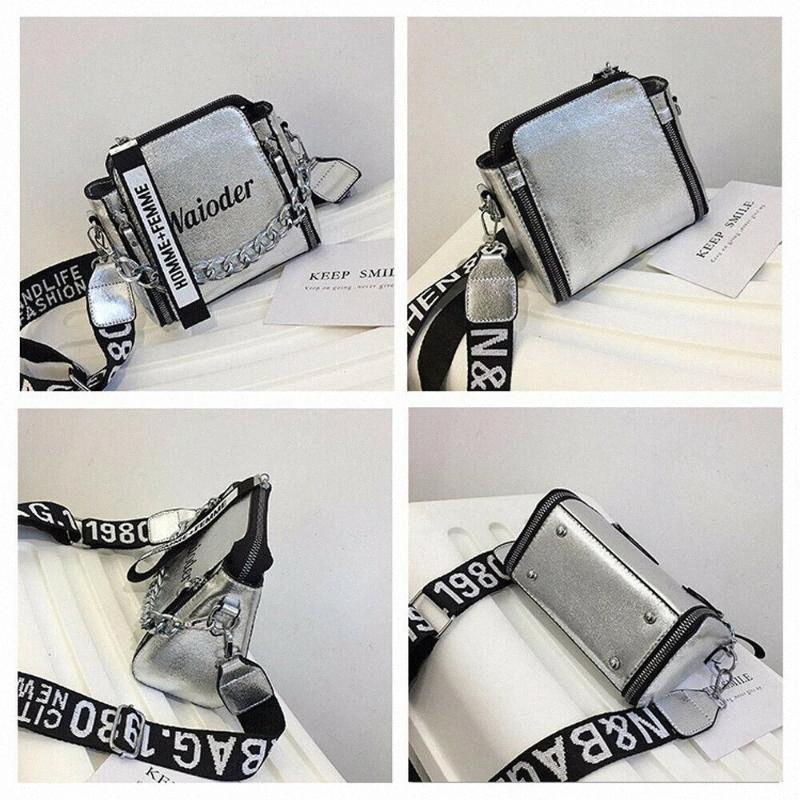 Frauen-Handtasche Crossbody Beutel für Frauen Umhängetasche Tragetaschen Weibliche Handtaschen PU-Leder-Geldbeutel-Kurier-Kreuz-Körper Laser-Tasche aWuo #