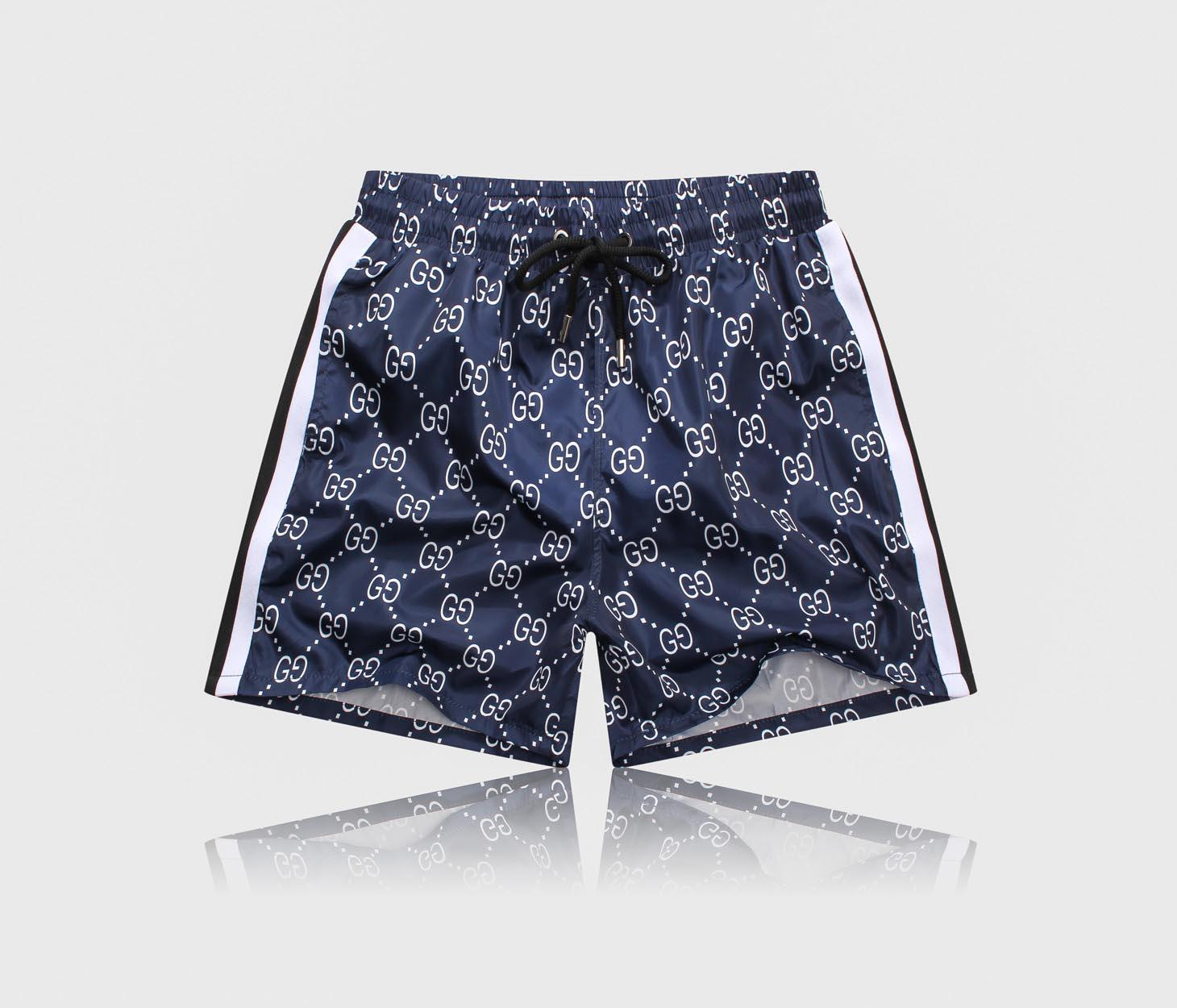 New summer brand men's brand shorts summer beach camouflage letters surf swimming sports swimsuit gym Bermuda basketball loose pants