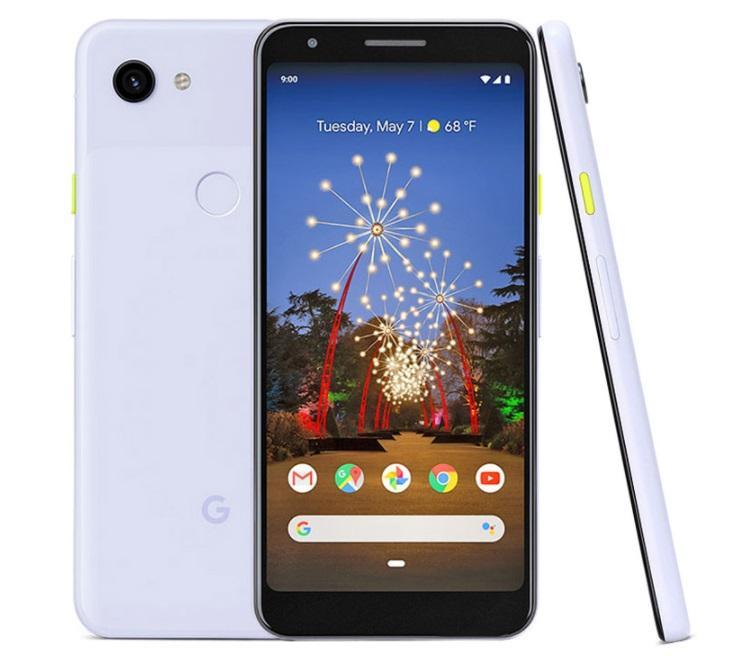 تم تجديده الأصلي Google Pixel 3A XL الهاتف الخليوي غير مقفلة Octa Core 4GB / 64GB 6.0 بوصة 12.2MP 4G LTE