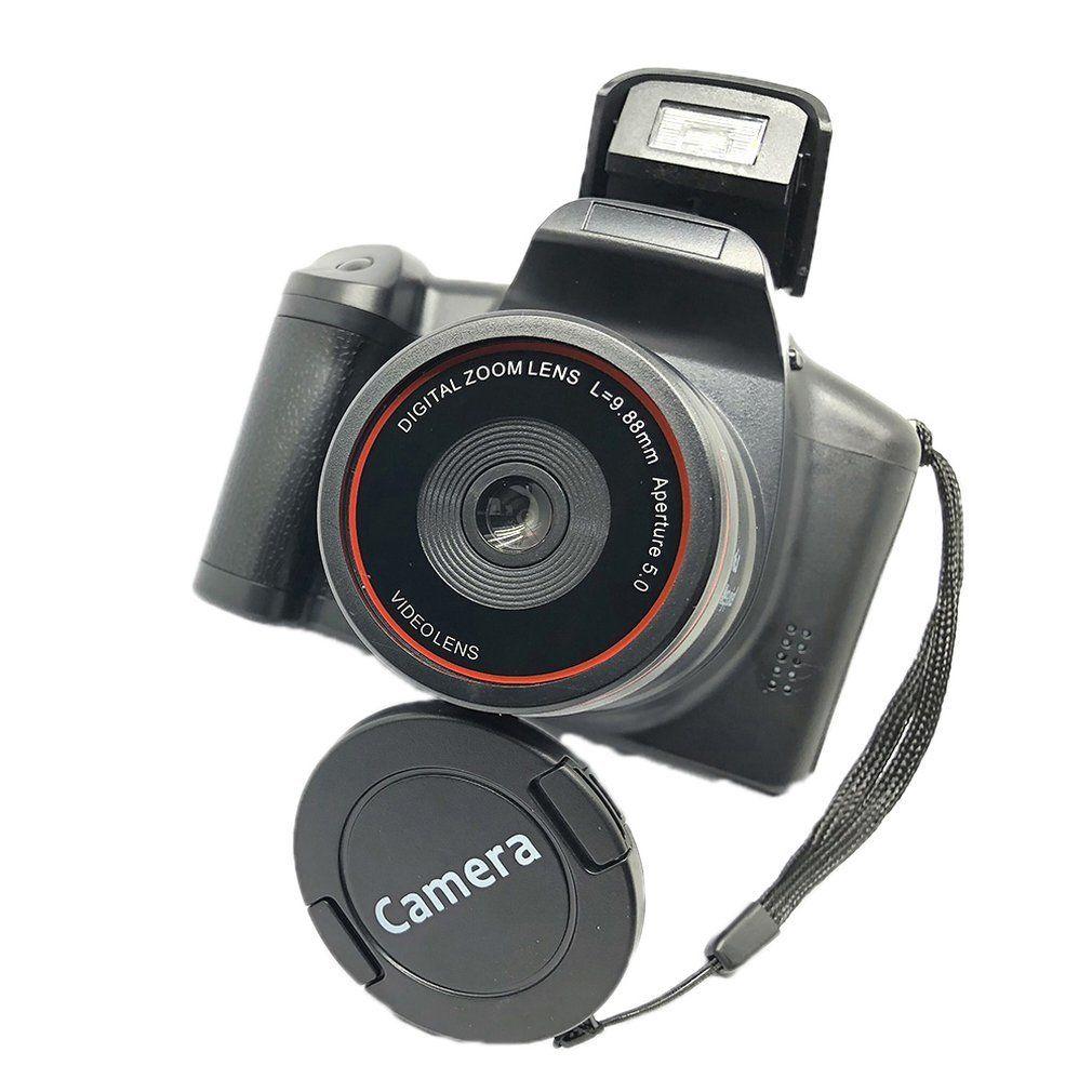 Professional XJ05 Appareil photo reflex numérique 4x Zoom 2,8 pouces à écran de CMOS Max 12MP Résolution HD 720P TV et sortie vidéo