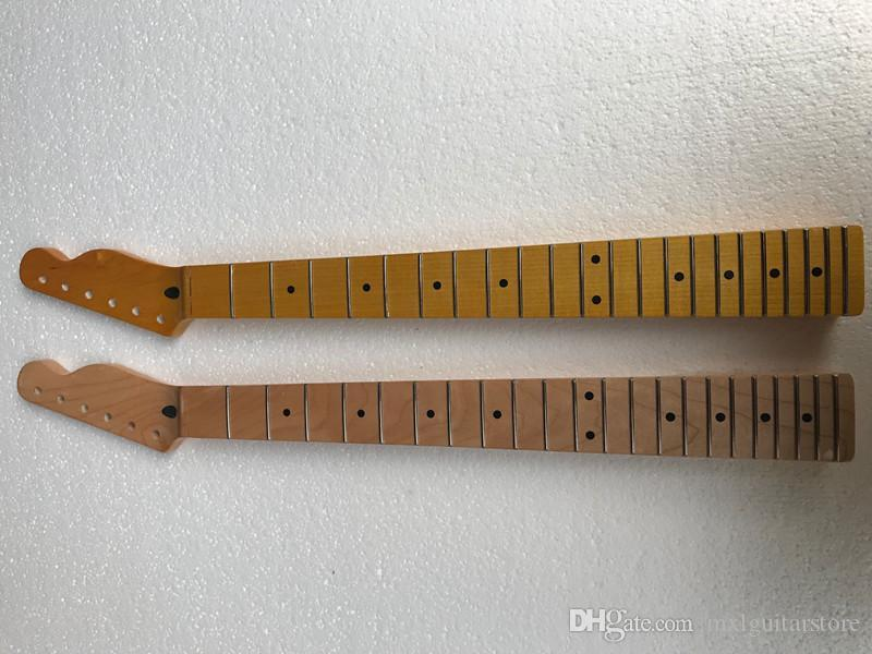 Electric Guitar Neck with Maple Fretboard,22 Frets,6 Strings,Size and material can be customized according to your requirements.