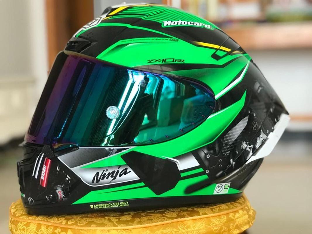 Precio especial 2020 Nueva ZX Casco de cara completa ZX10 RR KAWA MOTORCYCLE CASCAS CASCO