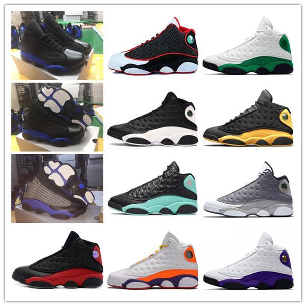 2020 nuovi Mens di scarpe da basket Jumpman 13 Flint 13s Isola Verde Bred Reverse He got game Uomo Donna Black Orchid di sport scarpe da tennis degli Stati Uniti 40-47