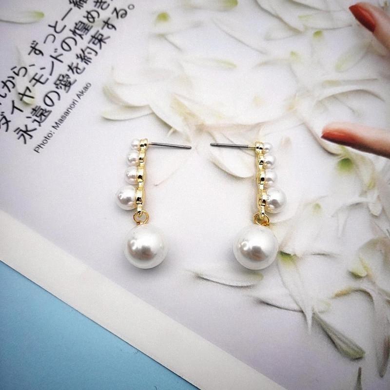 2020 2020 NEUHEITEN GOLD-Ohrringe Modeschmuck Ohrringe Hochzeit PARTY GESCHENKE Damen Accessoires GUTE QUALITÄT Fw98 #