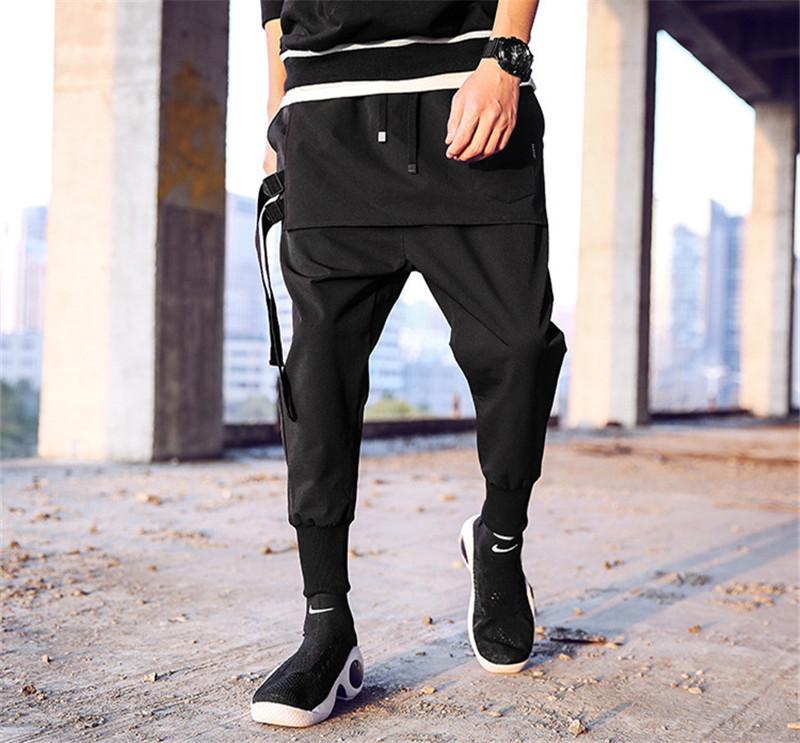 Sport Designer Hommes d'été Pantalons solides Pantalons couleur Fashion Style Homme Bouton Vêtements Vêtements Zipper Casual
