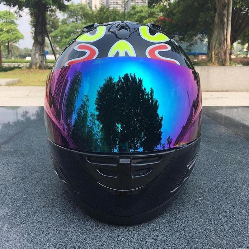 Yukarı Motokros Kask Capacetes De motociclista Motosiklet Kaskı Kadınlar Yenilik Casque ABS Malzeme vBqN # çevirin