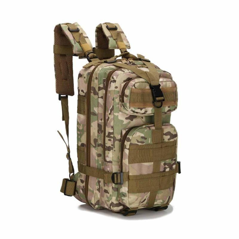 Tactical camuflagem Camera Pacote Mulheres Messenger Bag Men Outdoor Esporte sacos impermeáveis Nylon Saddle Bag