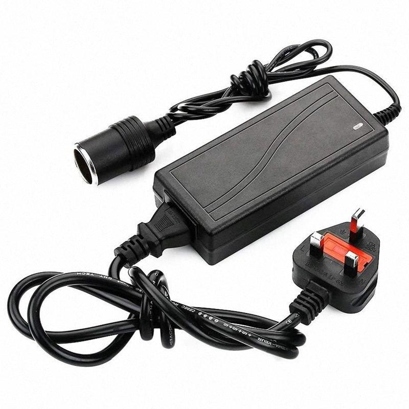 UK plug Power Supply Cigarette Lighter Socket AC to DC Adapter 110V-240V to 12V 5A Car Power Charger Converter HGwa#